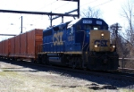 CSX Q706 trash train
